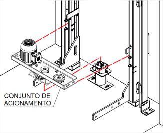 MONTAGEM E TESTES - CONJUNTO DE ACIONAMENTO AC14