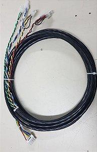 CHICOTE AC02 MANOBRA (PLATAFORMA COM CANCELA) (CONECTOR MINI-FIT)