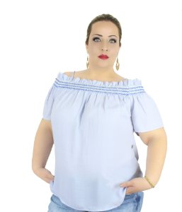 BLUSA PLUS SIZE JULIANA