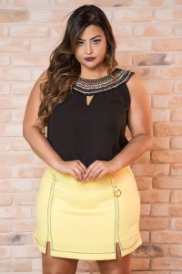 SHORTS SAIA PLUS SIZE LARA