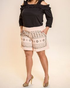 SHORT PLUS SIZE MARI