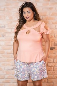 SHORT PLUS SIZE CECI