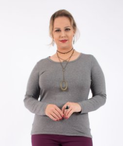 BLUSA PLUS SIZE BASIC
