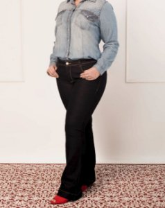 CALÇA PLUS SIZE BOOT CUT