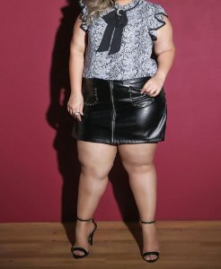 SHORT SAIA PLUS SIZE ROCKER