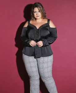 BLUSA PLUS SIZE SUPREME
