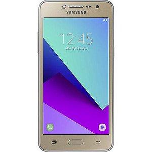 """Smartphone Samsung Galaxy J2 Prime TV Dual Chip Android 6.0 Tela 5"""" Quad-Core 1.4 GHz 16GB 4G Câmera 5MP - Dourado"""
