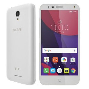 Celular Smartphone Alcatel Pop 4 Premium OT5051 - Dual Chip, 4G, Tela IPS 5', Câmera 13MP+frontal 8MP com Flash ,Quad Core,40GB*,1.5GB RAM,Android 6.0