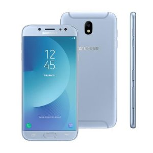 smartphone samsung galaxy j7 pro android 7.0 tela 5.5 octa core 64gb 4g wifi camera 13mp azul