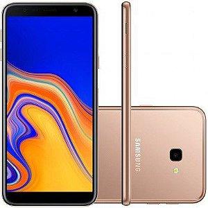 "Smartphone Samsung Galaxy J4+ 32GB Dual Chip Android Tela Infinita 6"" cobre"
