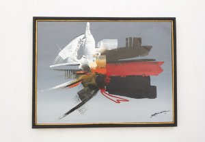 Quadro Abstrato 80 x 60 |M. Moreira 1993