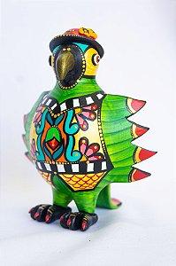 Papagaio em cabaça PP BAPI |MG