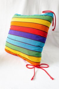 Almofada cadeira  Arco íris 40 x 40 | Fortaleza - CE