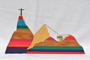 Escultura Rio de Janeiro | Colorida | RS