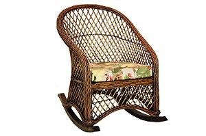 Cadeira de Balanço Tramada