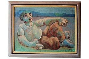 Descanso Azul | 60x80cm
