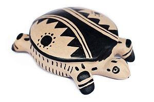 Tartaruga Cerâmica Waurá
