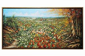 Flores no Campo | 80x160cm
