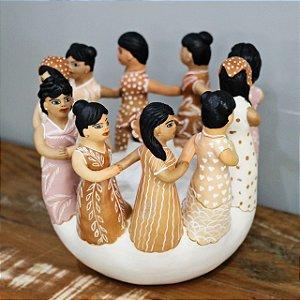 Ciranda de cerâmica do Vale do Jequitinhonha