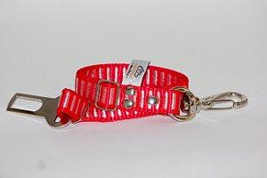 Cinto de Segurança Confraria dos Pets Listrada 20mm