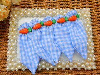 Gravata Tecido Joy Azul Cenourinha