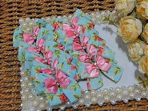Laço Ponta de Tecido Joy Floral Francis