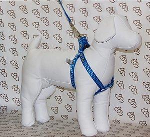Peitoral Listrado G/GG 25mm Confraria dos Pets