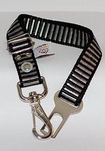 Cinto de segurança Cores Lisas 20mm Confraria dos Pets