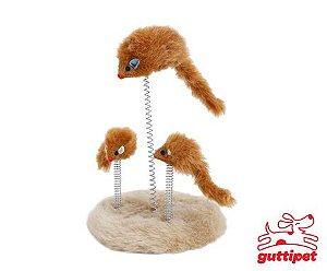Arranhador Ratinhos Trio Gutti Pet