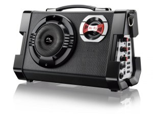 MP3 Active Sound System Multilaser 6 em 1 Portátil Preto - SP191