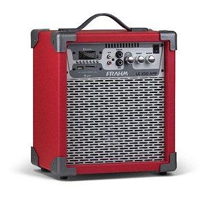 Caixa Amplificada Multiuso Vermelha Frahm - LC 250 APP