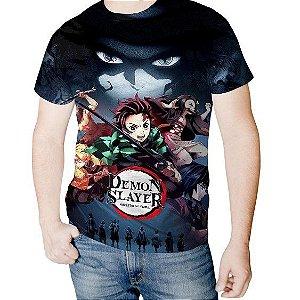 KIMETSU NO YAIBA - Demon Slayer - Camiseta de Animes