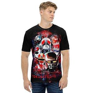TOKUSATSU - Heróis da Manchete - Camisetas de Séries