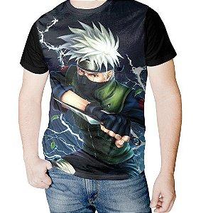 NARUTO - Kakashi Hatake Raikiri - Camiseta de Animes