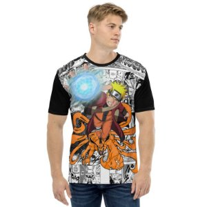 NARUTO - Rasengan Mangá - Camiseta de Animes