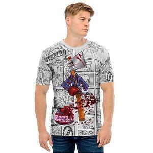 NELSON MACHADO - Machadinho Cosplay Ash - Camiseta de Dubladores