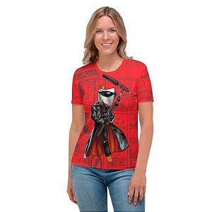 NELSON MACHADO - Machadinho Cosplay Blade Vermelha - Camiseta de Dubladores