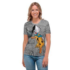 NELSON MACHADO - Machadinho Cosplay Fred Flintstone Cinza - Camiseta de Dubladores