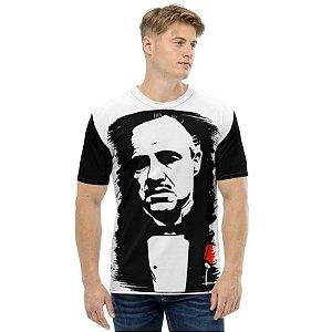 PODEROSO CHEFÃO - Don Corleone Branca - Camiseta de Cinema