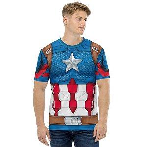 UNIFORMES - Marvel Capitão América - Camisetas Variadas