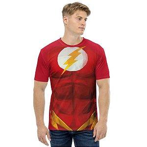 UNIFORMES - DC The Flash Vermelha - Camisetas Variadas