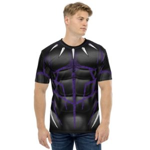 UNIFORMES - Marvel pantera Negra - Camisetas variadas