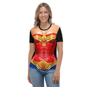 UNIFORMES - DC Mulher Maravilha 3D - Camisetas variadas