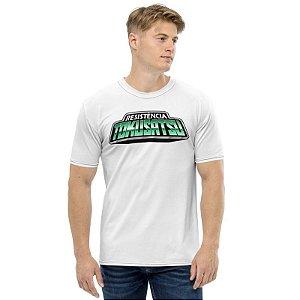 RESISTÊNCIA TOKUSATSU - Logo Branca - Camisetas de You Tubers