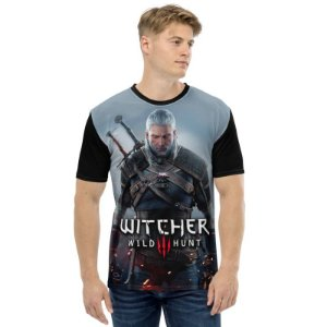 WITCHER, THE - Wild Hunt - Camiseta de Games