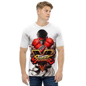 STREET FIGHTER - SFV Cover - Camiseta de Games