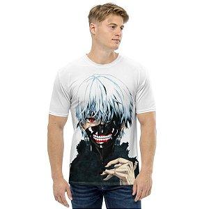 TOKYO GHOUL - Ken Kaneki Branca - camiseta de Animes