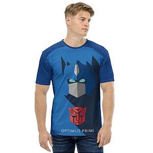 TRANSFORMERS - Optimus Prime Simples - Camiseta de Desenhos