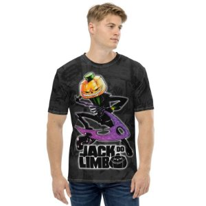 JACK DO LIMBO - Foice Preta - Camiseta de Mangás Brasileiros
