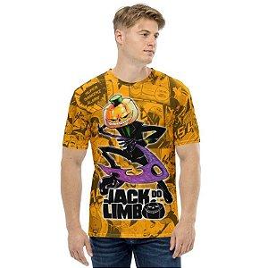 JACK DO LIMBO - Foice Laranja - Camiseta de Mangás Brasileiros